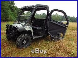 John Deere Gator Xuv Full Size Full Half Door Set Black Cab Doors