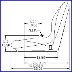 John Deere Pair (2) Yellow Gator Seats Fits Gator 6x4 Serial # 20789 & Up