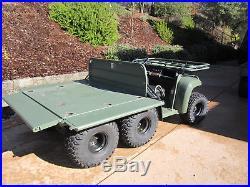 John Deere A1 Military Gator 6x4 4x4 Army Vehical Hunting Ranch Farm Utv Atv