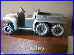 John Deere Desk Pen Set Award Pewter FP Gator 4x6 Utility Vehicle SpecCast JDM94