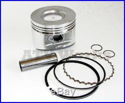 John Deere FD620 FD661 Engine Gasket Rebuild Kit. 5mm Oversize Pistons and Rings