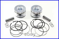 John Deere FD620 FD661 Engine Piston and Ring Kit Pistons, Rings, Pins, Snap Rings