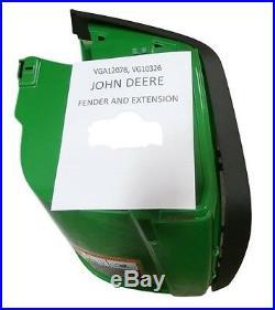 John Deere Fender Kit Right Side VG10326 VGA12078 Gator CS CX