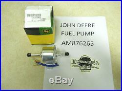 John Deere Fuel Pump fits F911, F912, F932,6x4 Gator, 332,777 Ztrak, AM876265
