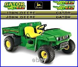John Deere Gator 4x2 Set Decal Graphics Kit