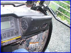 John Deere Gator 825i, 2011, Camo, Glass Cab, Heater, Bumpers, Power Steer, Dump