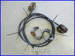 John Deere Gator AMT 600 622 Rear Brake Lines Calipers Parts Only