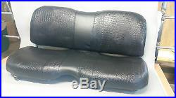 John Deere Gator Bench Seat Covers XUV 625i in SOLID BLACK or 45+ Colors