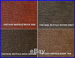 John Deere Gator Bench Seat Covers XUV 825i / S4 in BLACK CROC or 45+ Colors