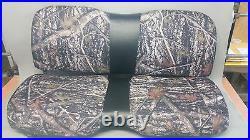 John Deere Gator Bench XUV 550 Seat Covers DRT Camo & Black 550 S4
