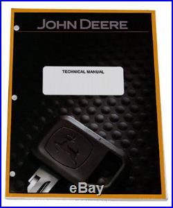 John Deere Gator HPX 4X2 4X4 Gas Diesel Technical Service Repair Manual -TM2195