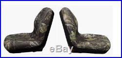 John Deere Gator Pair (2) Camo Seats Fit E-Gator TH 6X4 TE and Trail Series