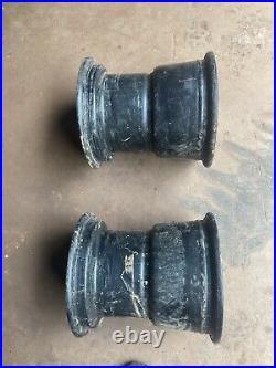 John Deere Gator Rear Wheels 6x4 4x2 AM126151 AM143571 set of 2 9 x 10