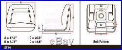 John Deere Gator Seat 6X4,4X4,4X2, CX, Diesel