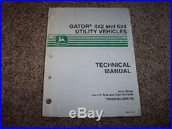 6x4 gator repair manual complete wiring diagrams