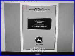 John Deere Gator Utility Vehicles Technical Service Shop Repair Manual CD
