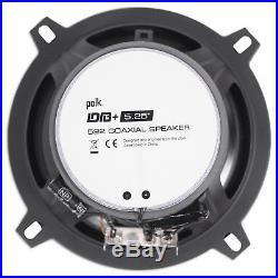 John Deere Gator XUV/RSX 4 Polk Audio 5.25 Tower Speakers+Amp+Bluetooth Control