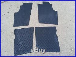 John Deere Gator Xuv 550 S4, & Rszx850i Floor Mats