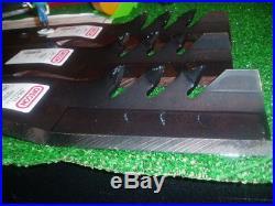 "Set of 3 Fusion Gator Blades For /""62 fits John Deere M143504 B103  X749 Z465"