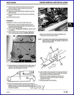 John Deere M-Gator M Utility Vehicle XUV Tech Service Repair Manual TM1804 BOOK