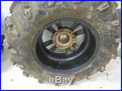 John Deere RSX860i Gator 16 Tires Rims SunF 27x11-14 Rear