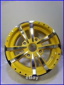 John Deere RSX860i Gator Rim 14x7.5 4 bolt aluminum alloy wheel Oem RSX850i 590i