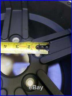 John Deere RSX 825i Gator Rim 14x8 5 bolt aluminum alloy wheel Oem black