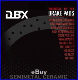 Gator HPX /'10-11 John Deere UTV Brake Pads DBX FA609 XUV850D /'10 XUV620i