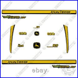 John Deere XUV 620i Decal Kit Utility Vehicle Gator Decal 3M Vinyl
