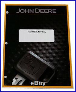 John Deere XUV 825i Gator Technical Service Repair Shop Manual TM107119