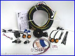 John Deere XUV Gator Turn Signal Horn Kit 625i 550 S4 Dux Street Legal 855D UTV