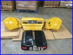 John Deere Yellow Worksite 4X2 Gator Plastic Replacement Body Kit