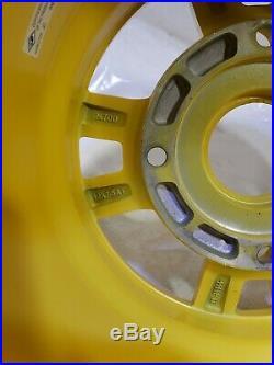 John Deere xuv 550 Gator Rim 12x7.5 4 bolt aluminum alloy wheel Oem yellow 590i