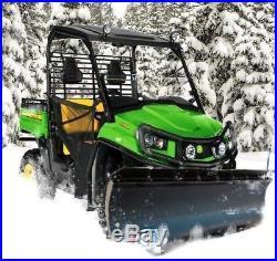 KFI 72 UTV Poly Blade Snow Plow Kit for 2018-2019 John Deere Gator 835M