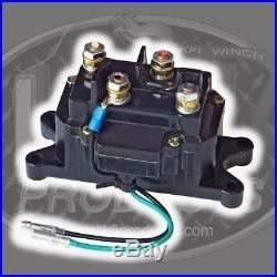 KFI Stealth 2500 Synthetic Winch + Mount- John Deere Gator XUV 855D 2011-2015