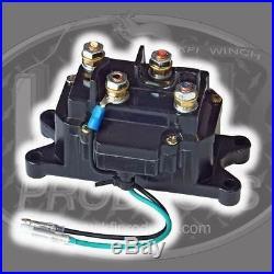 KFI Stealth 3500 Synthetic Winch + Mount- John Deere Gator RSX 850i 2013-2015