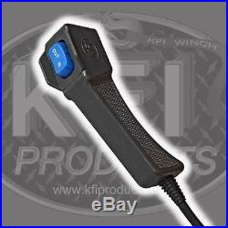 KFI Stealth 3500 Synthetic Winch + Mount- John Deere Gator XUV 550/550 S4 12-16