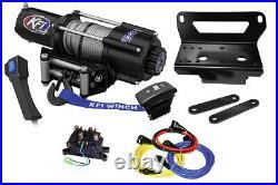 KFI U45w-R2 4500lbs winch & mount kit John Deere Gator XUV 550 560 590 590-S4