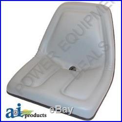 New 2 Pack Seat For John Deere Gator Grey Aiptm333gr X2