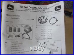 New John Deere Gator Deluxe Light Kit for Deluxe Cargo Box BM22685 Complete Set