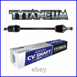 OE STYLE REAR LEFT REPLACEMENT CV AXLE FOR JOHN DEERE RSX 850i Gator 2012-2015