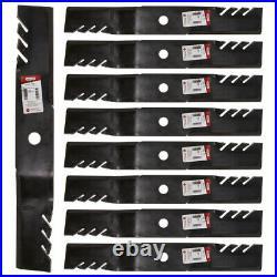 Oregon 396-730 Gator G6 Blades John Deere M128485 737 757 Z950M with 60 9-PACK