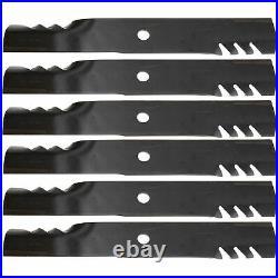 Oregon 396-734 60 Deck Gator G6 Blades John Deere M113878 425 445 4100 6-PACK