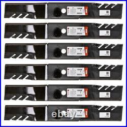 Oregon 396-771 6 Pack Gator G6 Blade John Deere 2210 2305 2320 2520 2720 M158112