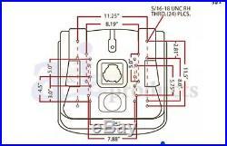 Seat Replaces John Deere Lgt100yl Gator 316 318 420 430 Universal Seat