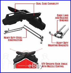 Seizmik Armory X Gun Rack Polaris Midsize Ranger John Deere Gator Honda Pioneer