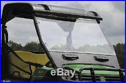 Seizmik Versa-Vent Full Front Windshield John Deere Gator Full Size HPX XUV