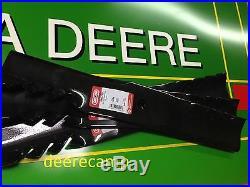 Set/3 Gator blades for John Deere 54C mowers on X500, X520, X530, X534, X540 396719