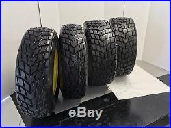 Set Of 4 25x10.00-12 25x8.00-12 Directional John Deere Gator ATV Wheel And Tire