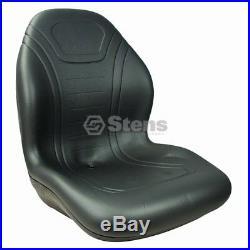Stens Black High Back Seat John Deere Gator RSX 850i XUV 825i 855D Diesel UTV's